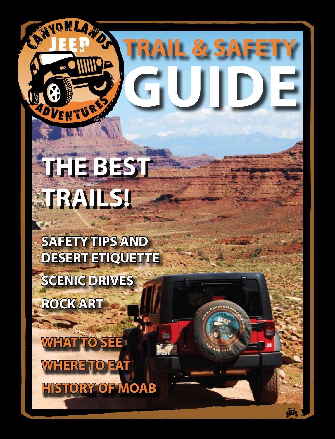 Moab Utah Canyonlands Jeep Trail Guide In 2020 Jeep Trails Moab Utah