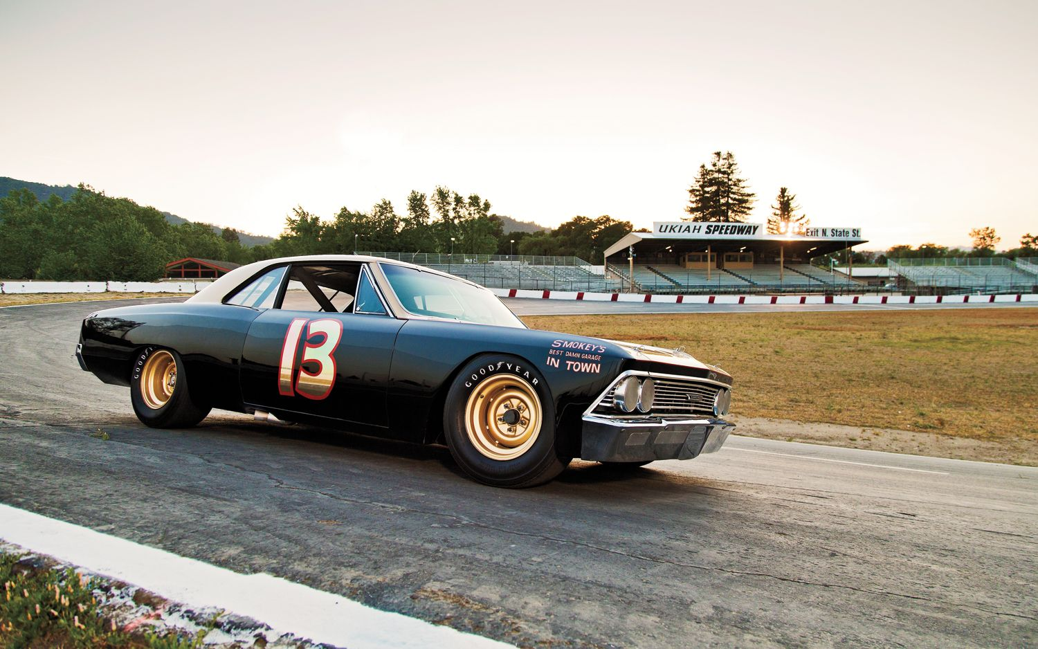 Chevrolet Chevelle Grand National Race Car Smokey S