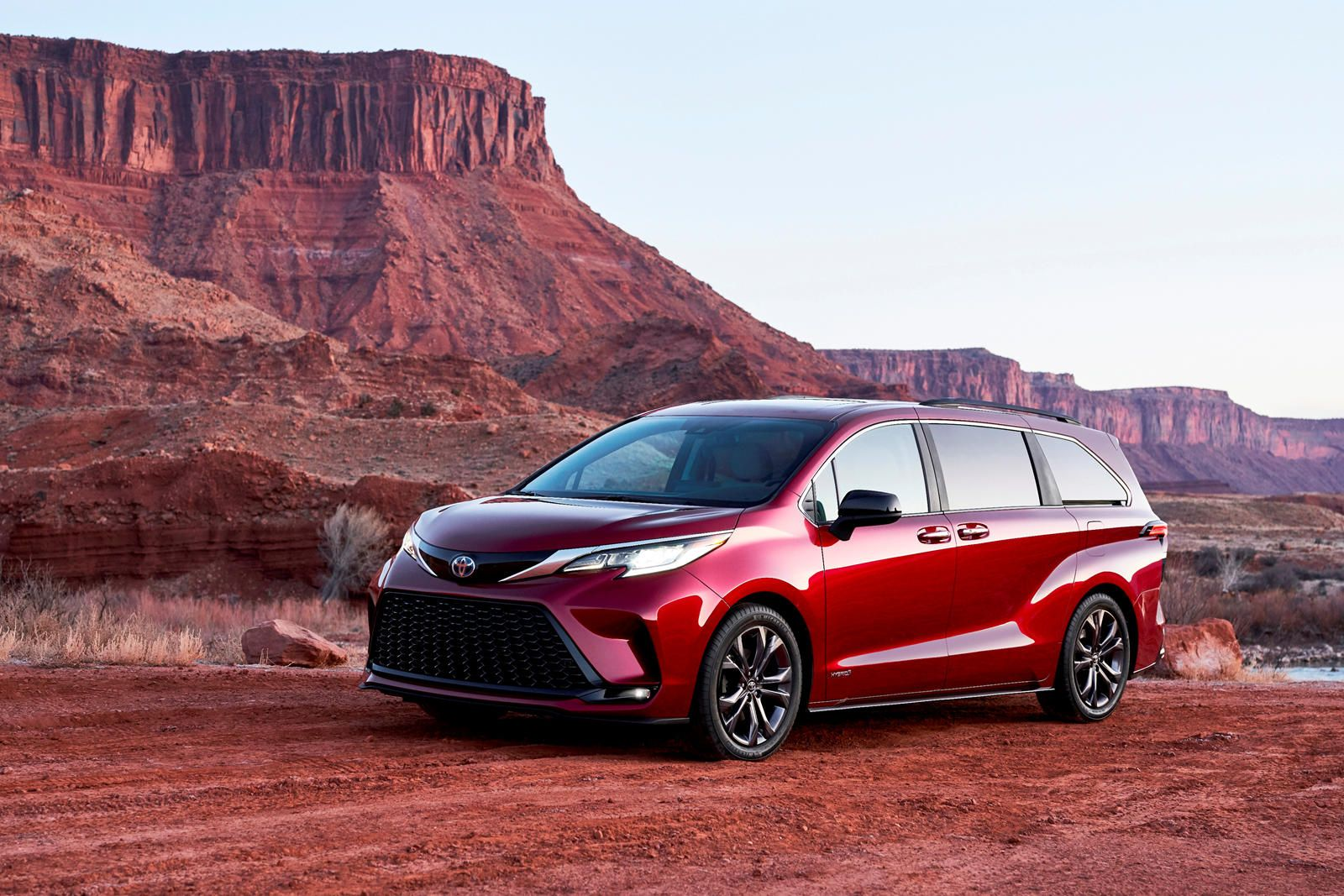 2021 Toyota Sienna First Look Review Electrified Swagger