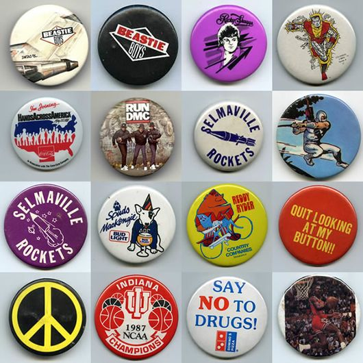 Blazers Fun Zone: 80's Pins.....I Remember When It Was Cool To Have These