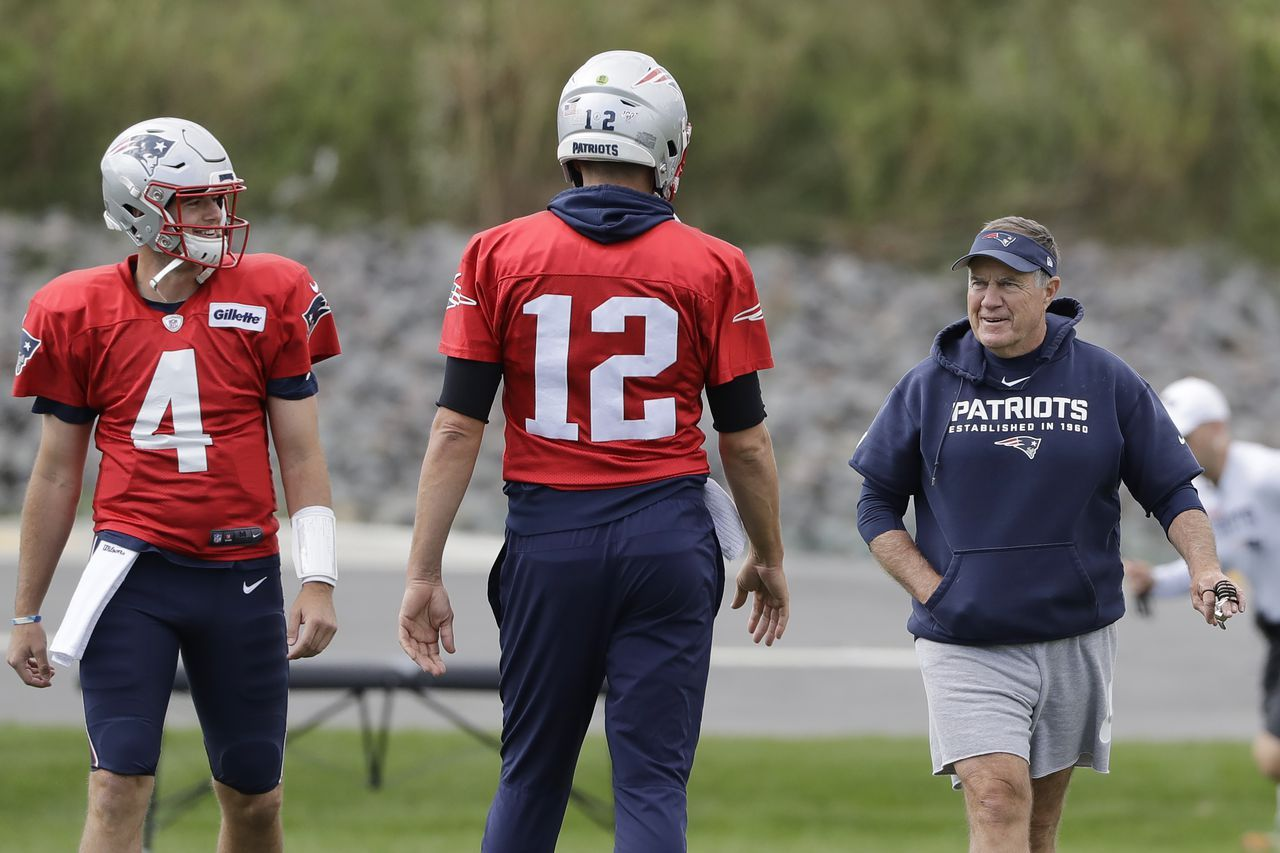 New England Patriots 2020 Offensive Roster Crunch Tom Brady Uncertainty Among Many Question National Football In 2020 Nfl News Football League National Football