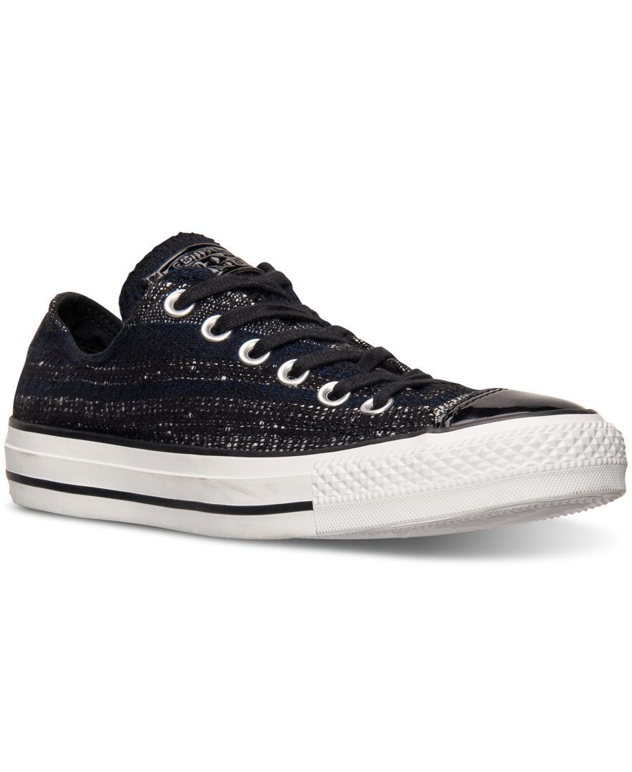 Converse Women's Chuck Taylor Ox Dobby Plaid Casual Sneakers from Finish  Line