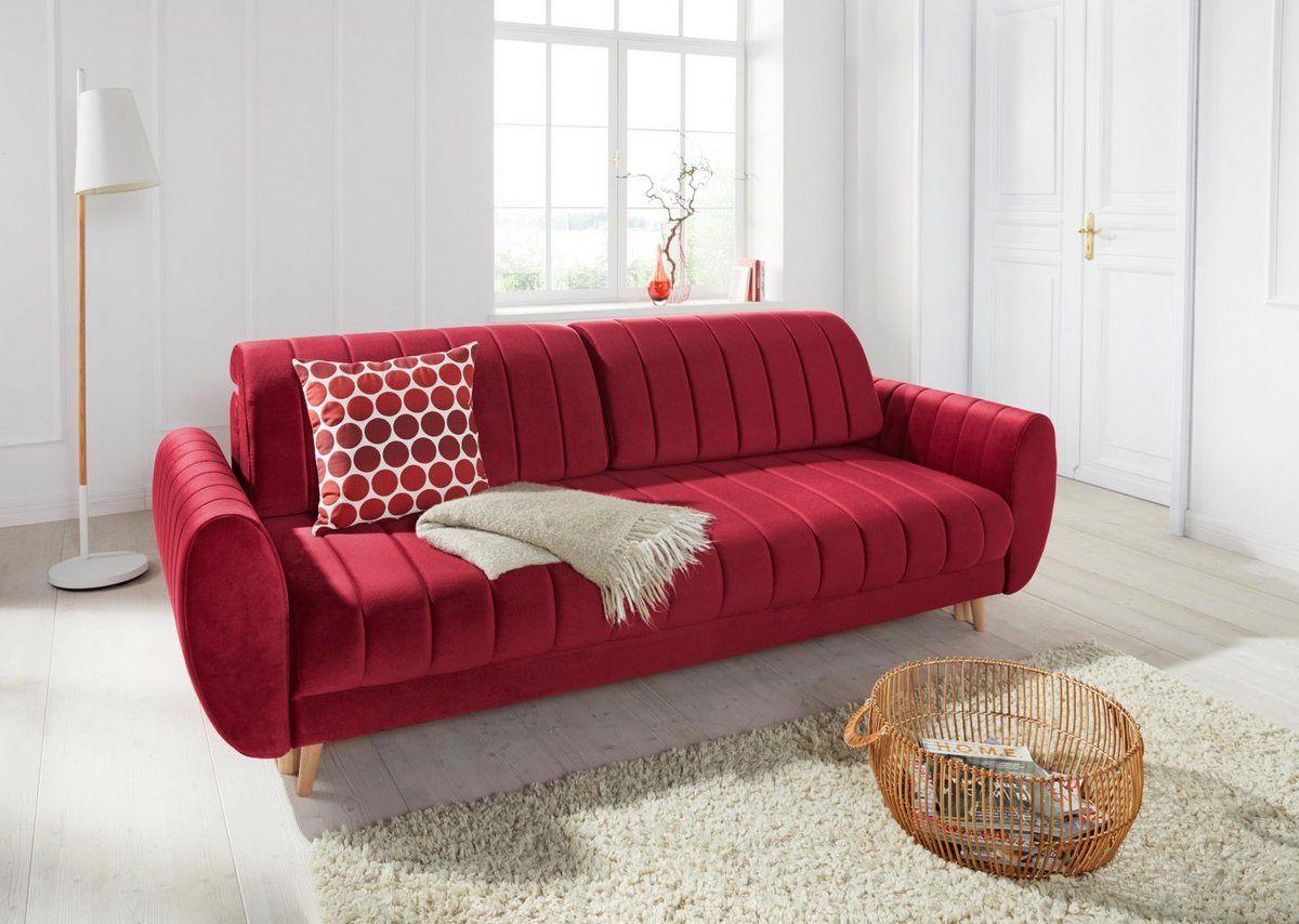 3 Sitzer Bari Mit Bettfunktion Und Bettkasten Sofa Bettkasten Und 3 Sitzer Sofa