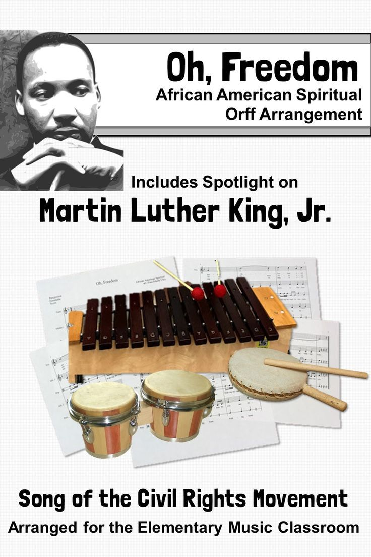 Photo of Black History Month Song & Orff Activities | Spotlight on Martin Luther King, Jr
