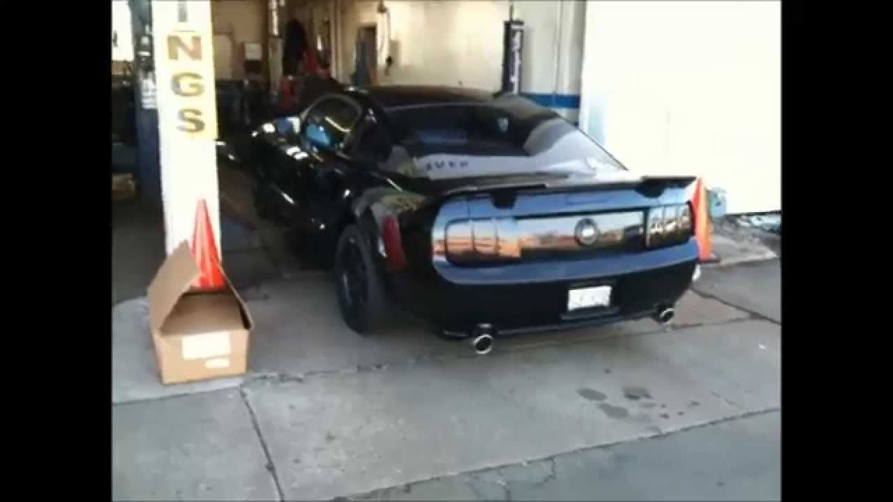 Loudest Mustang Exhaust Jet Sound Mustang Exhaust Mustang