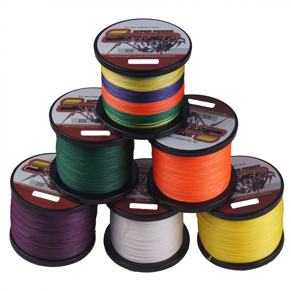 Brand 4Strand 500M 6-100LB Ultra Strong Fishing Braided Wire ...