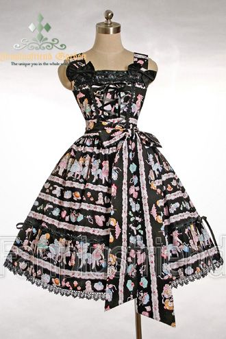 "Sweet Lolita ""Bowknot Gift"" Dress/JSK"