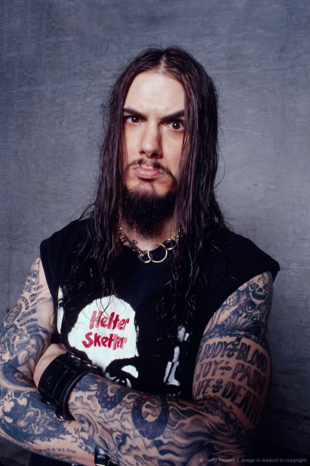 Phil Anselmo Long Hair Uphairstyle
