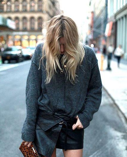 Pinterest : 30 façons de porter du gris cet automne