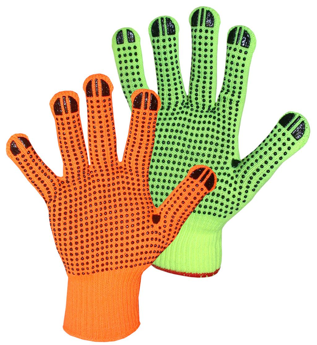 Pin on high visibility gloves
