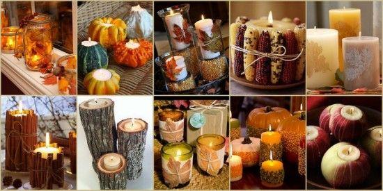 DIY Fall Wedding Candle Ideas From HotRef Fallwedding Fallweddingideas