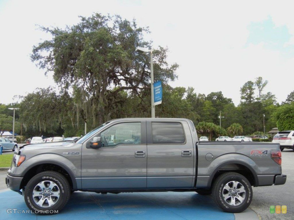 Sterling gray metallic 2012 ford f150 fx4