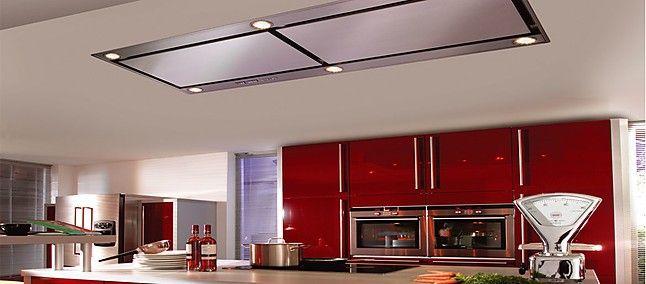 Dunstabzug AERO LAG 15160-811 leistungsfähiger Deckenlüfter mit - next line küchen