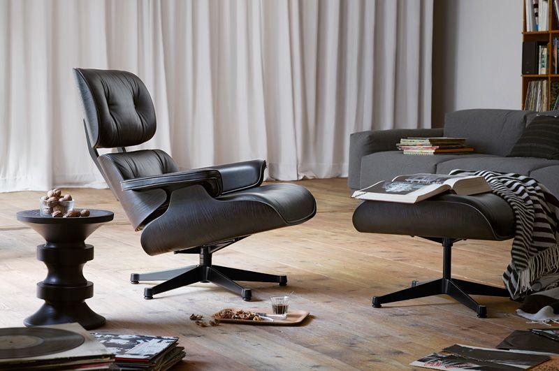 Vitra Lounge Chair Covers Blackburn Eames Black 01 Ic Mekanlar Pinterest