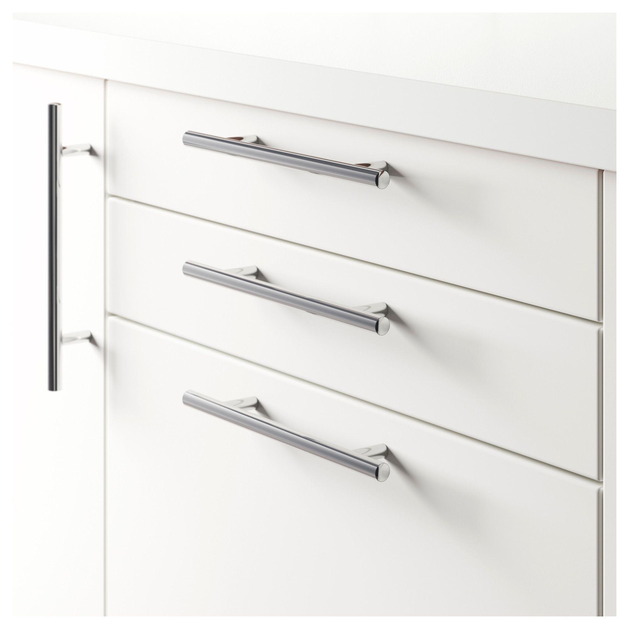 lansa handle stainless steel 245 mm home ideas pinterest ikea rh pinterest com Metal Cabinet Pull Square Cabinet Edge Pull