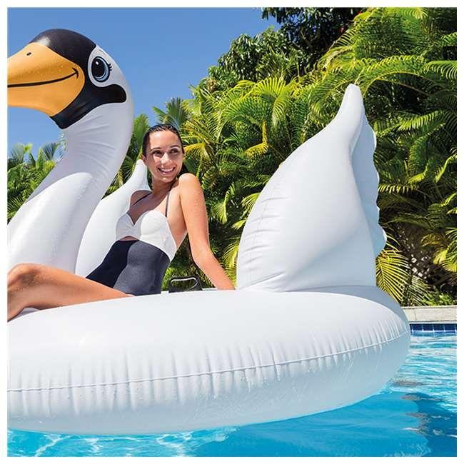 Intex Mega Swan Island Inflatable Pool Float
