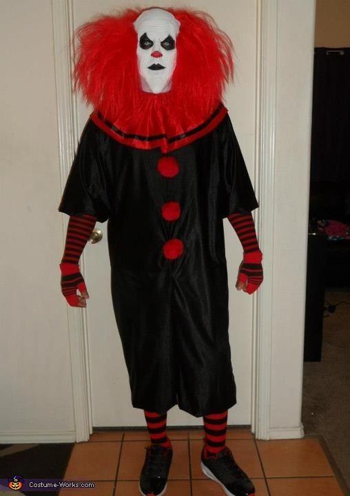 Evil Clown Costume | Clown halloween costumes, Evil clowns and ...
