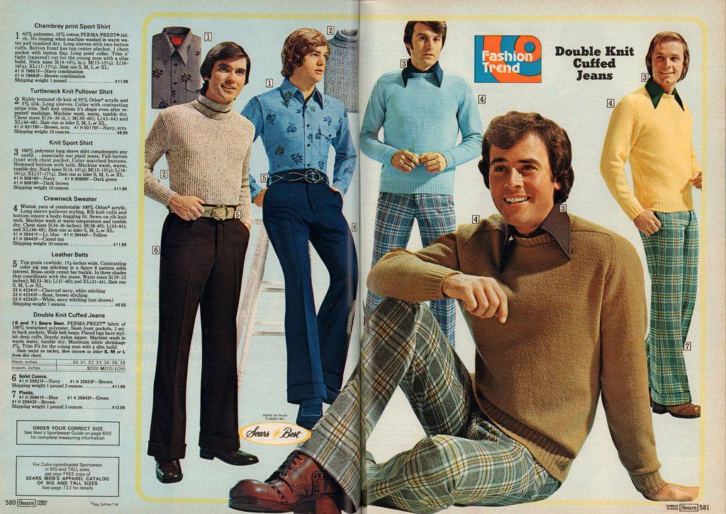 9a59f1ea2 Catalogs #40: Men's Fashion - Sears Fall-Winter 1974 | Retrospace 1977  Fashion