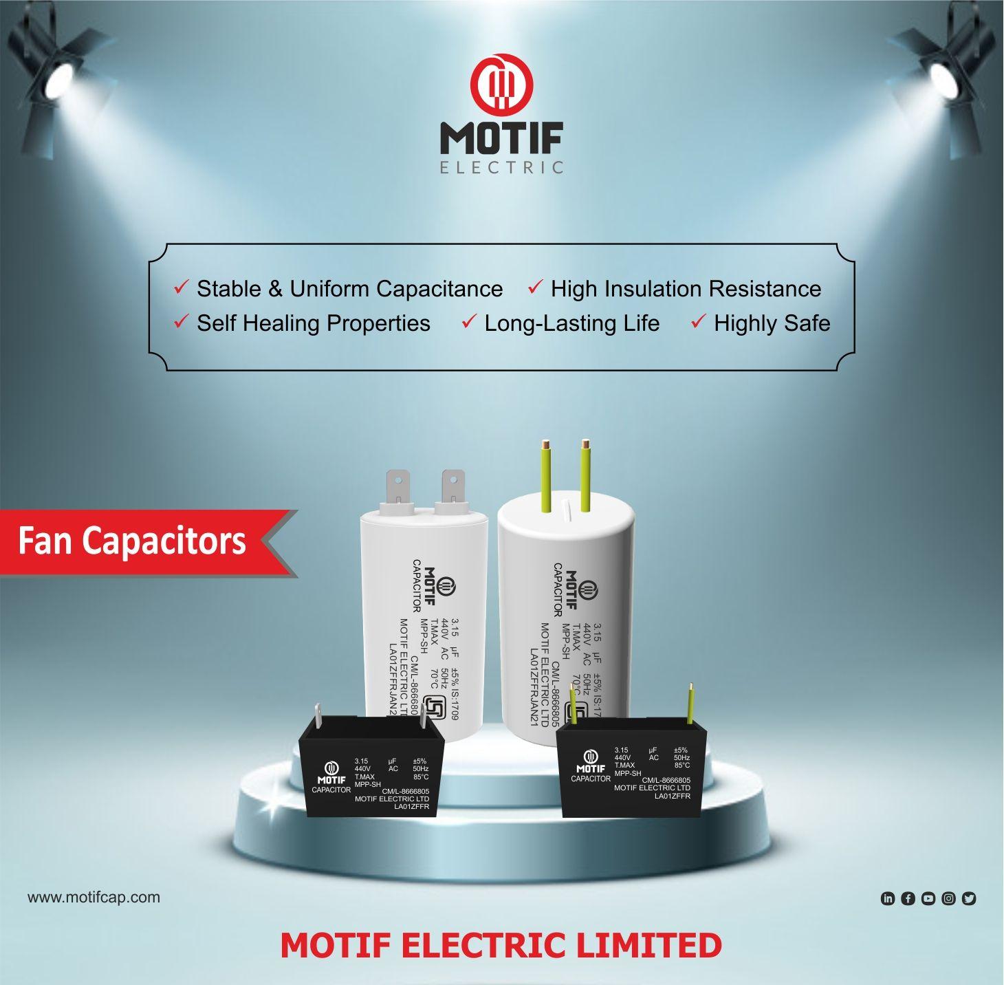 Fan Capacitors Capacitors Capacitor Volt Ampere