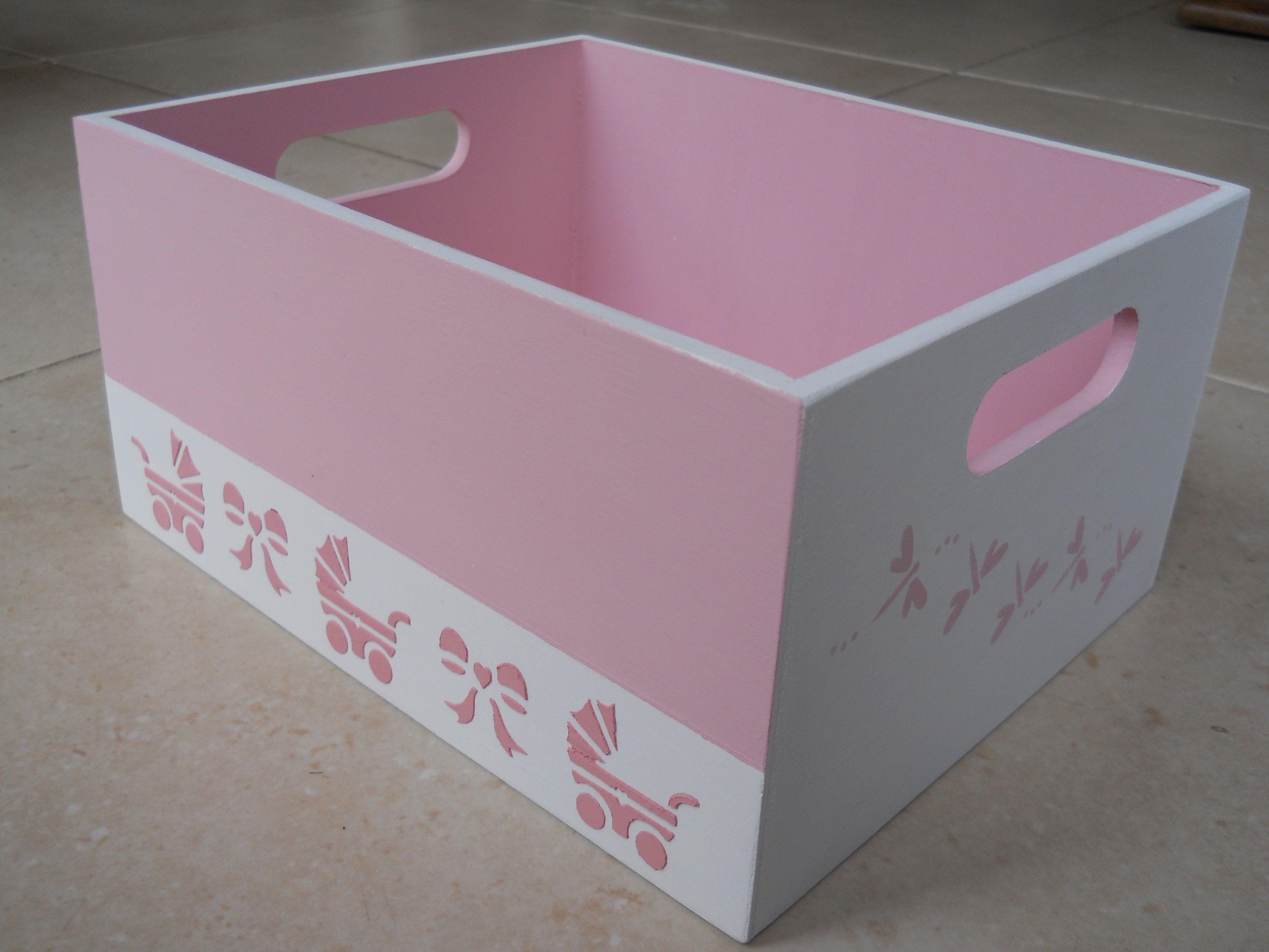 Im genes de cajas con decoupage para bebes pesquisa do - Cajas decoradas a mano ...
