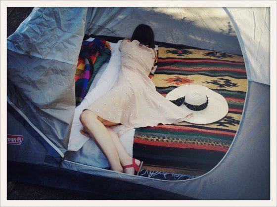 Wedding camping at Camino de Tierra Ranch, by Todd Weaver.