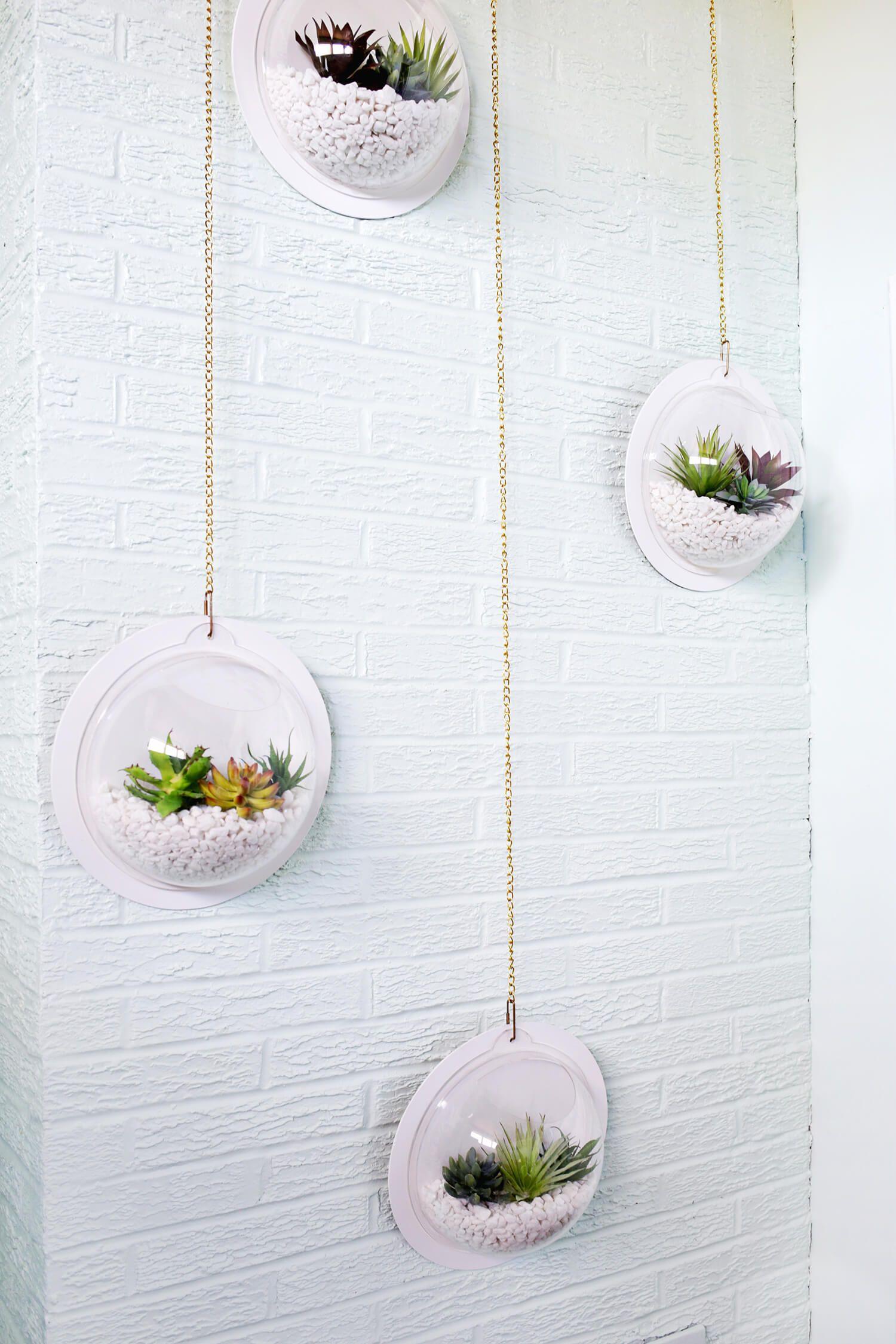 Hanging Terrarium Wall Diy Cool Pinterest Casas Bonitas Manos