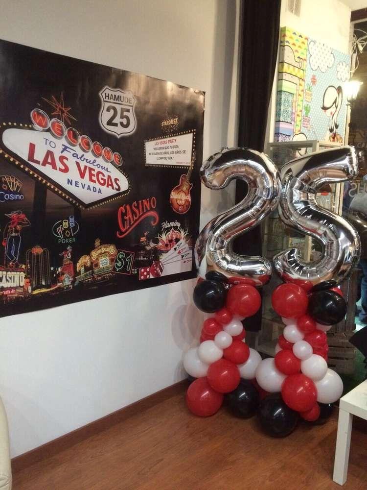 Las Vegas Birthday Party Ideas In 2019 Casino Party Vegas