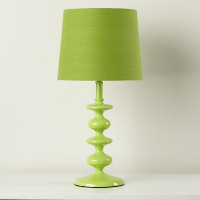 Awesome Kids Lighting: Kids Green Lamp   Green Checkmate Table Lamp Base By The  Land Of Nod