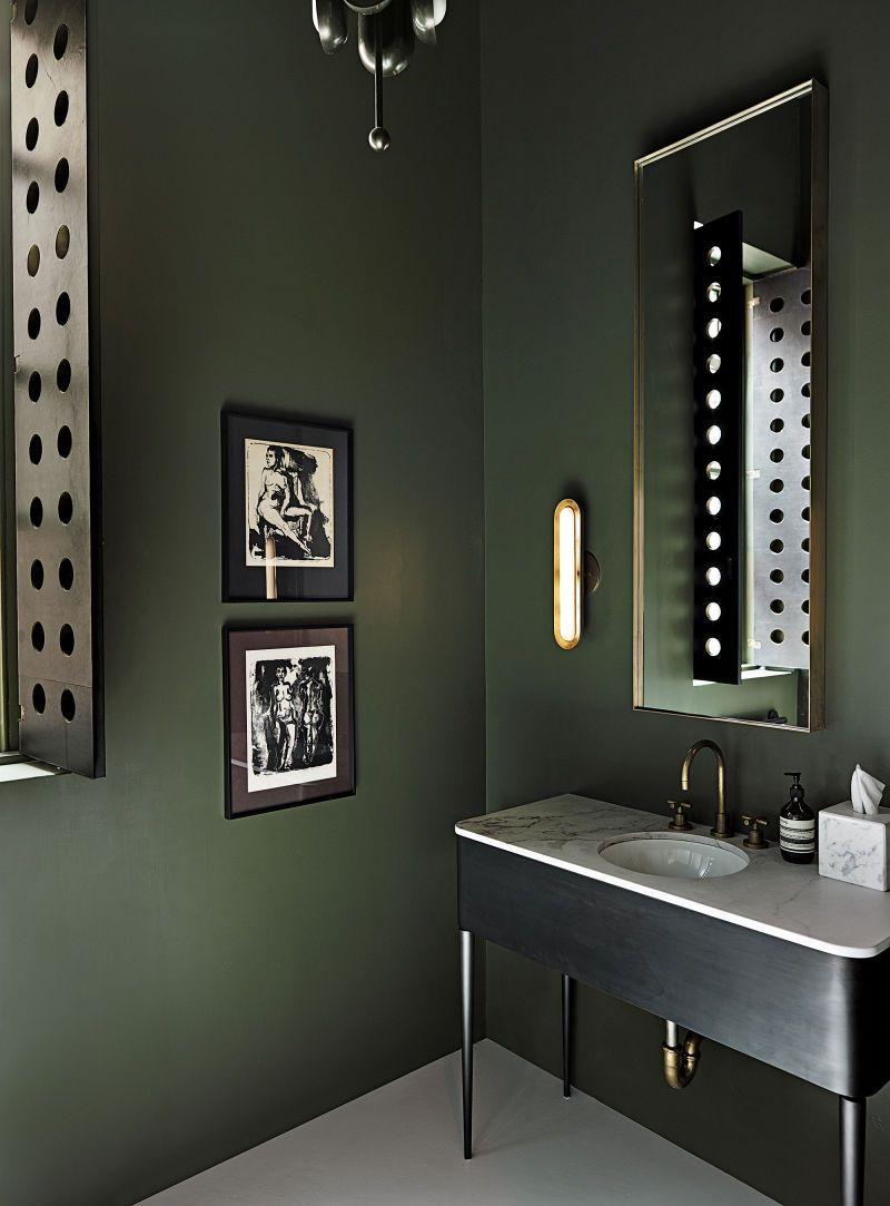 Apparatus Showroom in New York | Salle de bains kaki, Idée ...