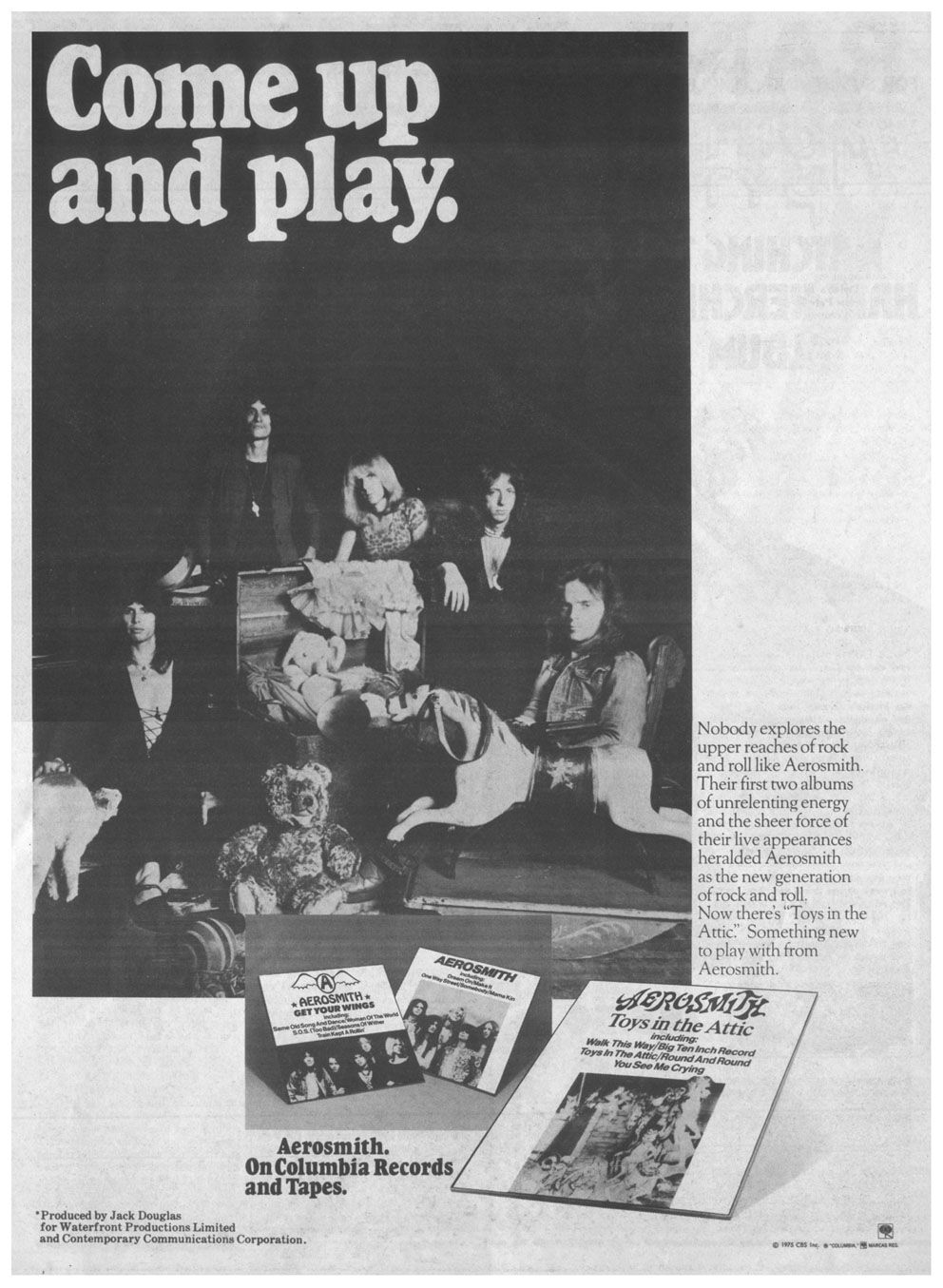 Pin By Max S Kansas City On Seventies Toys In The Attic Aerosmith Music Sites
