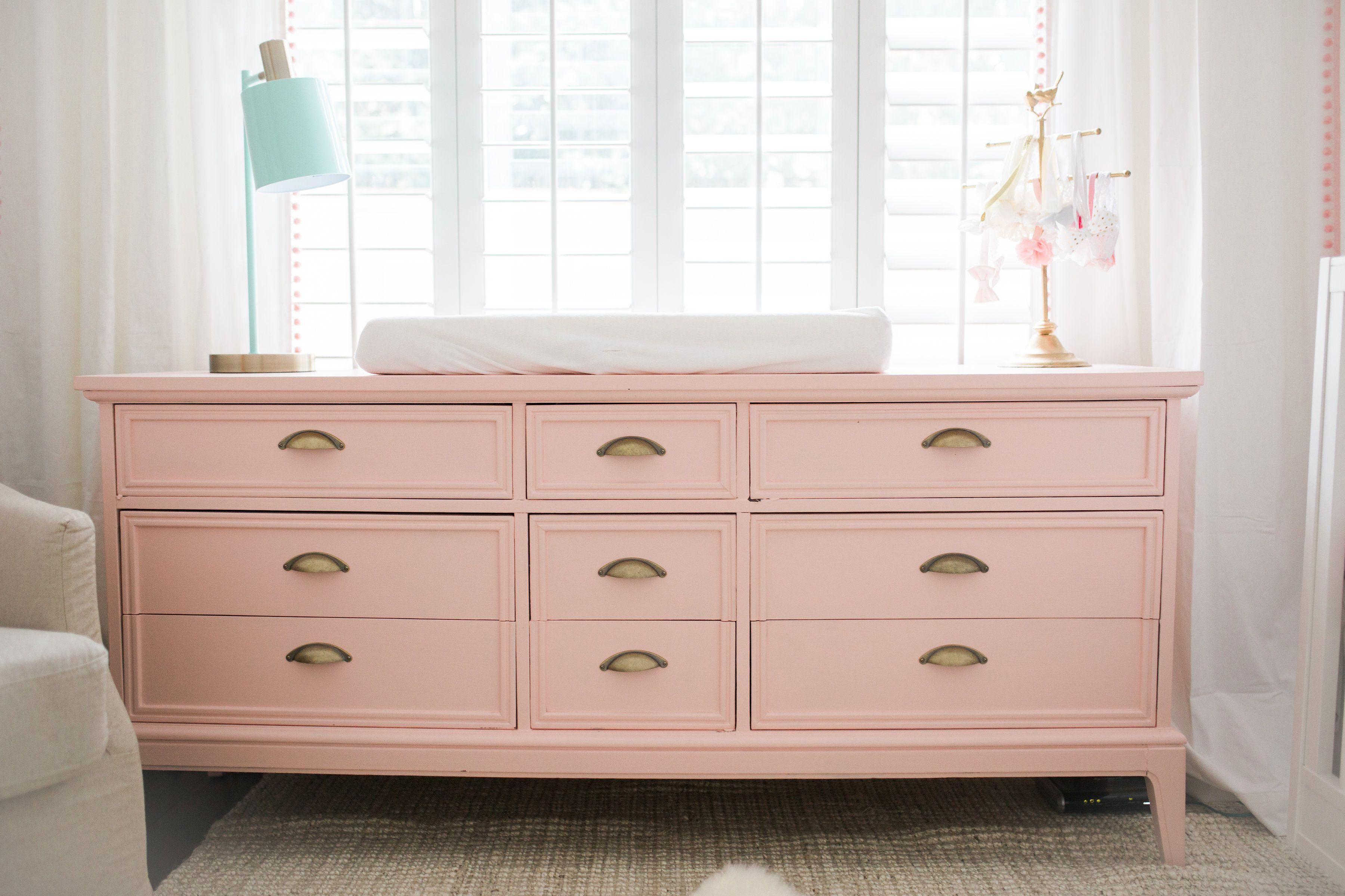 Bright White Pastel Baby Girl Nursery Reveal Girl Nursery