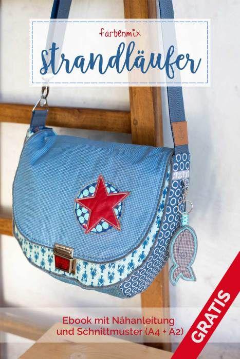Pin von Anita Geiser auf Nähen | Pinterest | Sewing, Taschen und Bags