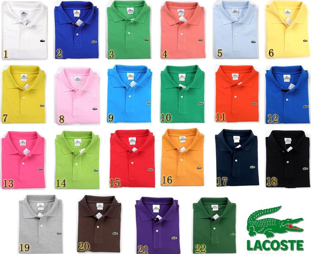 Lacoste Polo Shirts A Color For Every Occasion My Style In 2019