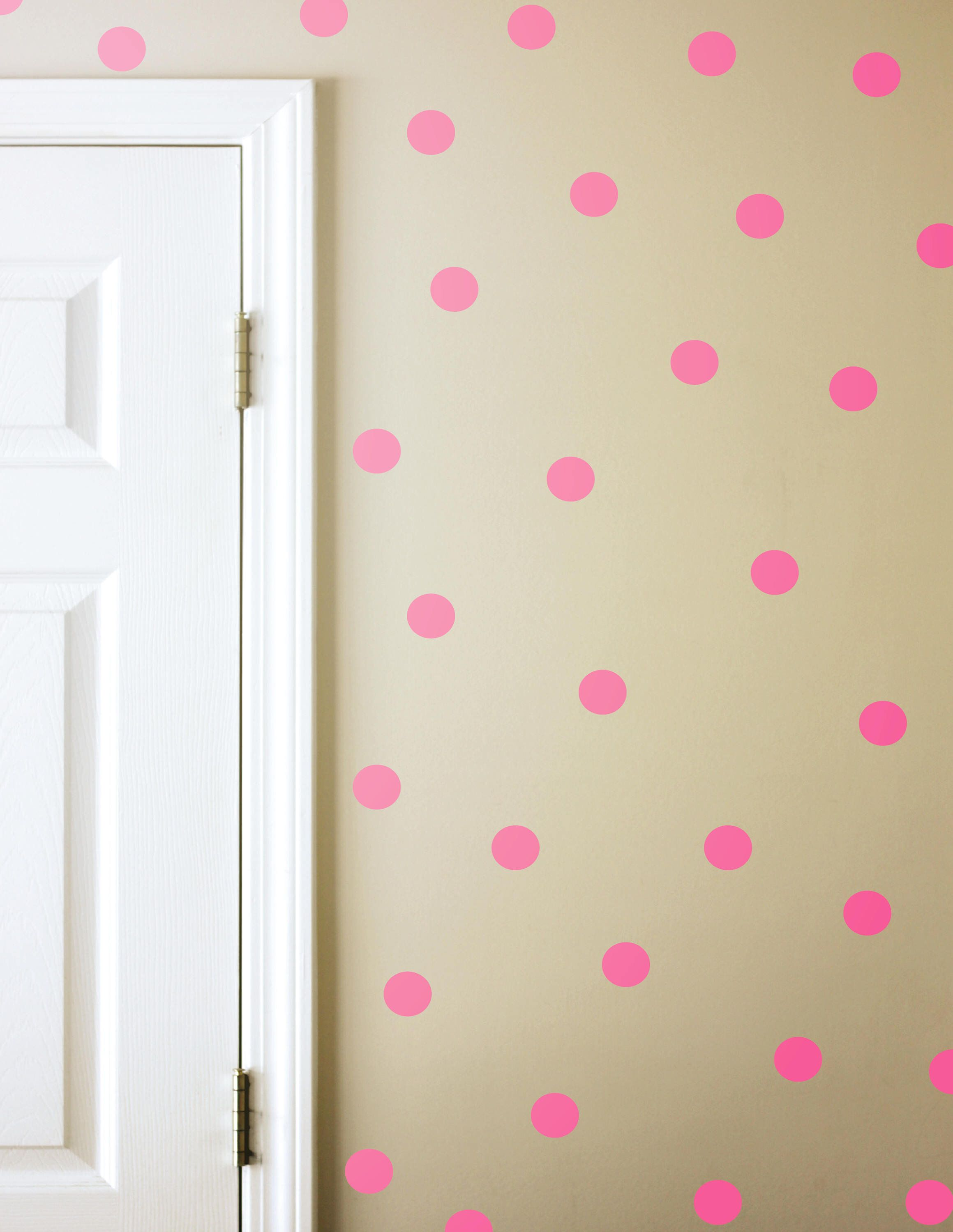 Polka dot wall decals girls room decals polka dot wall stickers