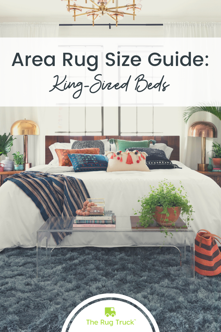 Area Rug Size Guide for King Beds Rug size guide, Area