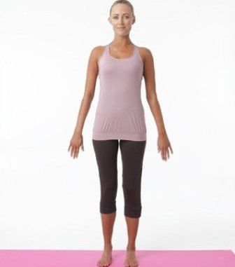 tadasana yoga mountain pose  how to do and benefits