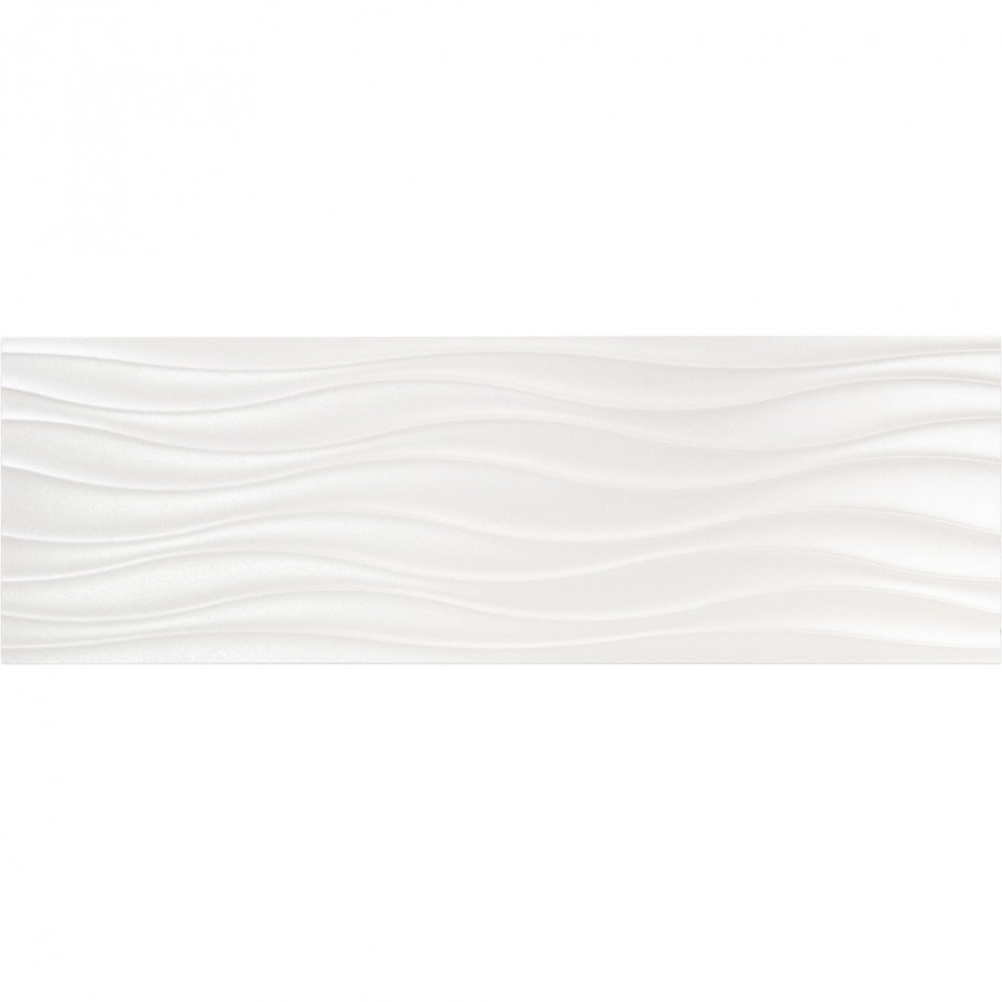 Whistler Slalom White 12x36 Ceramic Wall Tile Ceramic Wall Tiles Tiles Wall Tiles