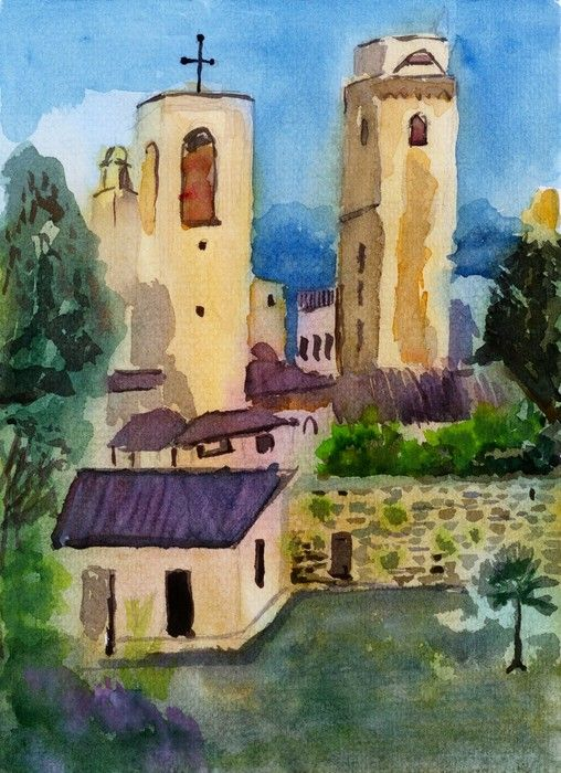 Watercolour Impressionist from $39.99  | www.wallartprints.com.au #ImpressionistArt  #WallArtPrints