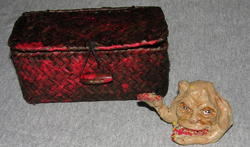 BASKET CASE BELIAL DELUXE ONE OF A KIND RESIN CAST FIGURE CULT B MOVIE HORROR   #SCHERES