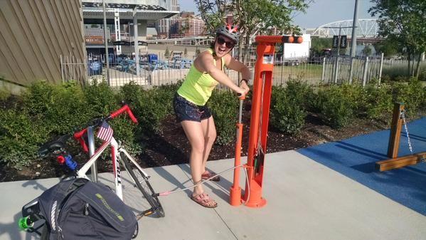Happy #DeroFixit user from Walk Bike Nashville