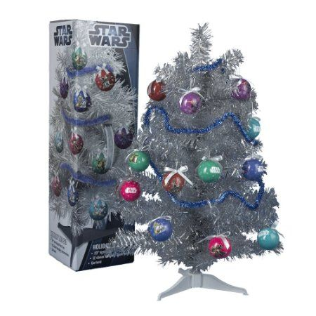 23 inch Christmas Tree - Star Wars-I know we're far from Christmas but any time is a good time for Star Wars collectables if you're a fan!