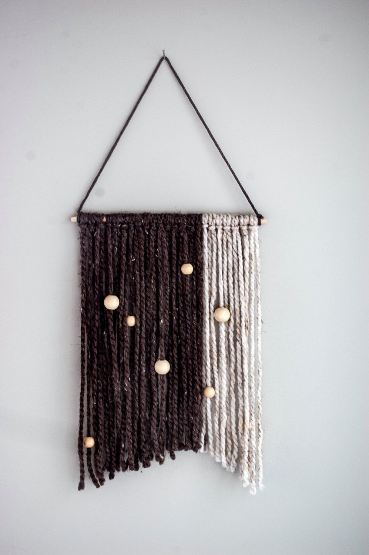 yarn wall hanging boho home decor tapestry yarn macrame yarn wall hanging boho home decor tapestry yarn macrame tapestry by thoseindiemommies