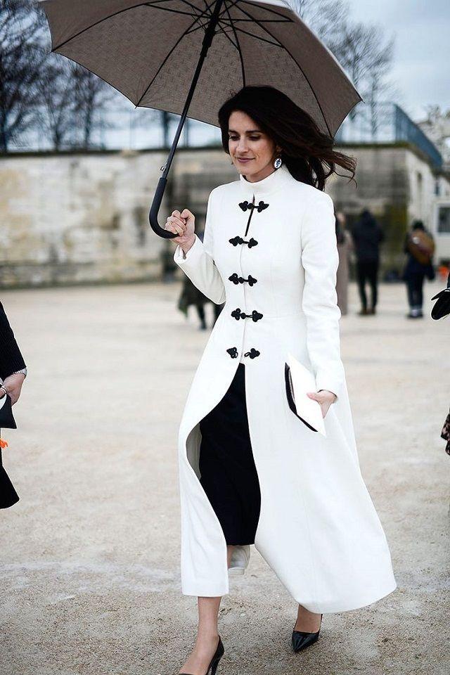 Imagenes de abrigos blancos