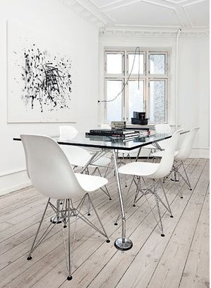 chairs + art