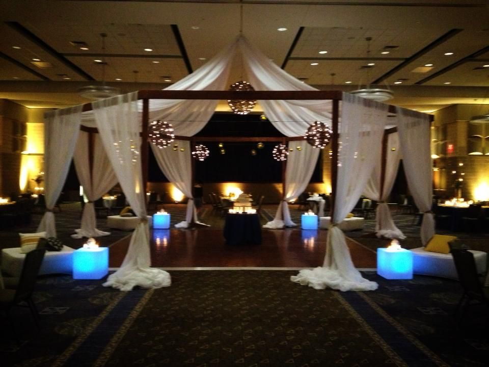 Candles and Lighting Wedding Reception Tent & Featured Designer Tamara Wendt: LED Lighting and Decor Essentials ...