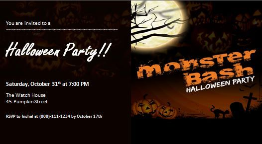 Ms Word Halloween Party Invitation Template Formal Word Templates Halloween Party Invitation Template Halloween Party Invitations Halloween Party Halloween invitation templates microsoft word