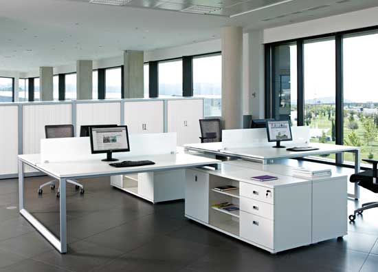 Mesa de oficinas vital plus  Open Space  Pinterest  Mesas