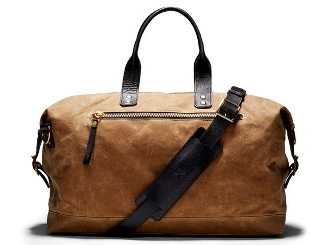 Bedford Wax Overnight Bag - Men - Ernest Alexander