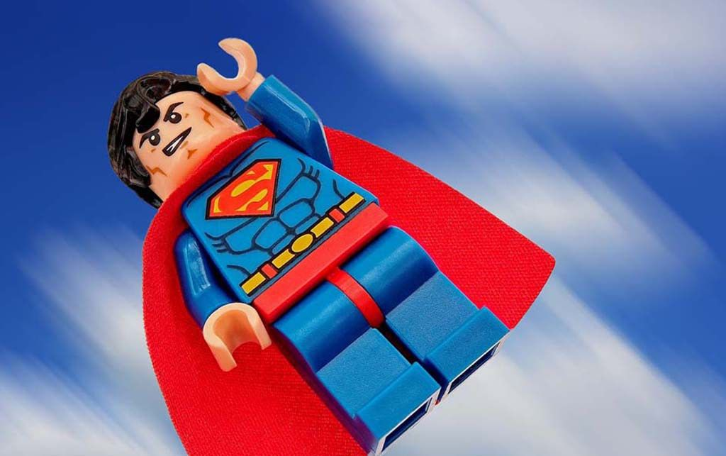 Isten éltessen, Superman! Superman fogyni