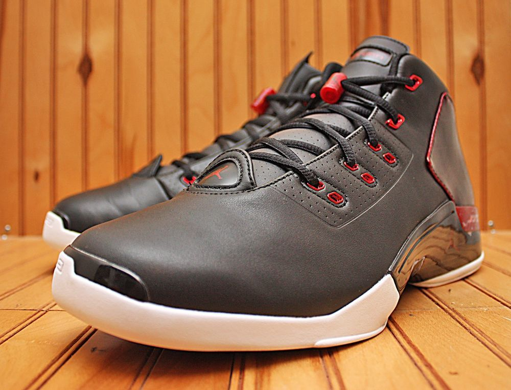 a41571a44a25 2015 Nike Air Jordan 17 + XVII Retro Size 13 - Black Gym Red White - 832816  001